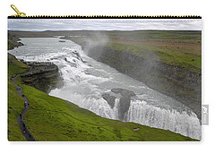 Gullfoss Waterfall No. 2 Carry-all Pouch