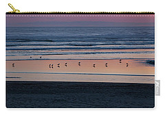 Gulls At Sunset Carry-all Pouch