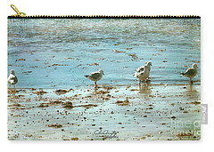Gulls On The Edge Carry-all Pouch