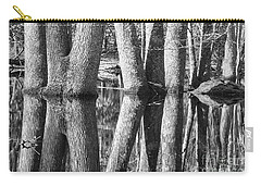 Carry-all Pouch featuring the photograph Gum Swamp by Geraldine DeBoer