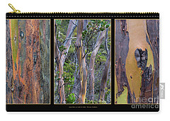 Gum Trees At Lake St Clair Carry-all Pouch by Werner Padarin