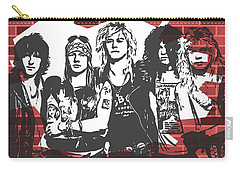 Guns N Roses Graffiti Tribute Carry-all Pouch