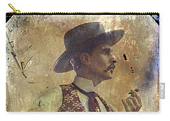 Gunslinger IIi Doc Holliday In Fine Attire Carry-all Pouch