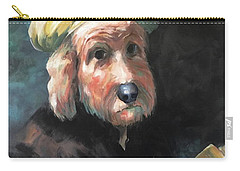 Gunther's Self Portrait Carry-all Pouch by Diane Daigle