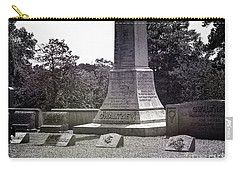 Gwaltney Cemetery  Carry-all Pouch by Melissa Messick