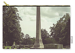 Gwaltney Monument In Smithfield Va Carry-all Pouch by Melissa Messick