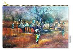 Gwari Village In Abuja Nigeria Carry-all Pouch