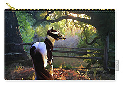Carry-all Pouch featuring the digital art Gypsy Fall by Melinda Hughes-Berland