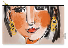 Gypsy Lady Carry-all Pouch by Elaine Lanoue