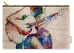 Carry-all Pouch featuring the digital art Gypsy Serenade by Nikki Smith