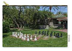 Carry-all Pouch featuring the photograph H D R Chess At The Biltmore by Aimee L Maher Photography and Art Visit ALMGallerydotcom