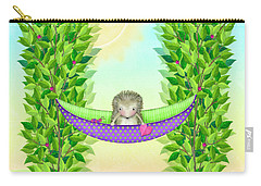 H Is For Hedgehog And Hammock Carry-all Pouch