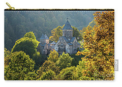 Haghartsin Monastery With Trees In Front At Autumn, Armenia Carry-all Pouch