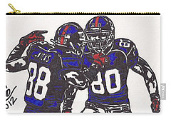 Hakeem Nicks And Victor Cruz Carry-all Pouch