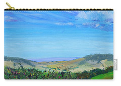 Haldon Hills Sea View Carry-all Pouch