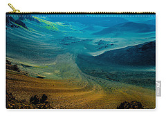 Carry-all Pouch featuring the photograph Haleakala by M G Whittingham