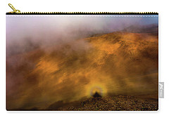 Carry-all Pouch featuring the photograph Haleakala Halo by M G Whittingham