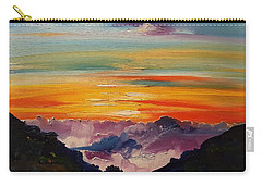 Haleakala Volcano Sunrise In Maui      101 Carry-all Pouch