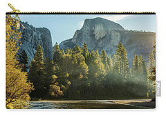 Half Dome And Merced River Autumn Sunrise Carry-all Pouch