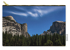 Half Dome And Moonlight - Yosemite Carry-all Pouch