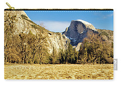 Half Dome During Wintertime Drought Carry-all Pouch