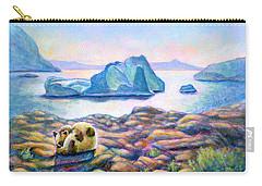 Half Hidden Carry-all Pouch by Retta Stephenson