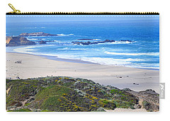 Half Moon Bay Carry-all Pouch by Holly Blunkall