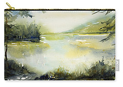 Half Moon Pond Carry-all Pouch by Judith Levins