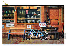 Carry-all Pouch featuring the photograph Half Off Sale Bicycle by Craig J Satterlee