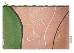 Half Pear Still Life Abstract Art By Saribelleinspirationalart Carry-all Pouch
