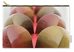 Carry-all Pouch featuring the photograph Halfmoon Chocolates by Sabine Edrissi