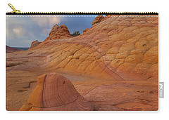 Carry-all Pouch featuring the photograph Half'n Half by Dustin LeFevre