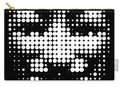 Halftone Anonymous Face  Carry-all Pouch