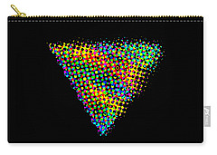 Halftone Triangle  Carry-all Pouch
