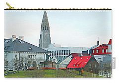 Hallgrimskirkja From Harpa 6219 Carry-all Pouch