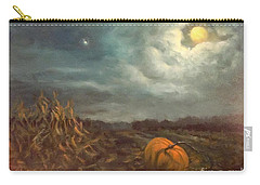 Halloween Mystery Under A Star And The Moon Carry-all Pouch