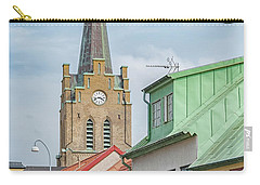 Carry-all Pouch featuring the photograph Halmstad Street Scene by Antony McAulay