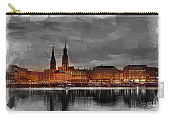 Hamburg Germany Skyline 01 Carry-all Pouch