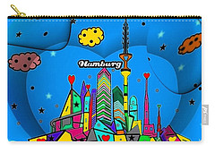 Hamburg Popart By Nico Bielow Carry-all Pouch