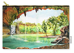 Hamilton Pool Texas Carry-all Pouch