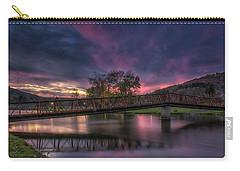 Hamlin Lake Sunset Carry-all Pouch