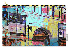 Carry-all Pouch featuring the photograph Hamm Building St. Paul by Susan Stone
