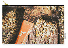Hammer Details In Carpentry Carry-all Pouch