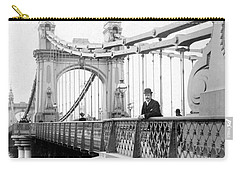 Hammersmith Bridge In London - England - C 1896 Carry-all Pouch
