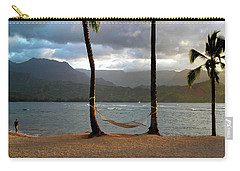 Hammock At Hanalei Bay Carry-all Pouch