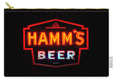 Hamm's Beer Carry-all Pouch by Susan  McMenamin