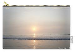 Hampton Beach Sunrise Carry-all Pouch by Eunice Miller