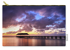Hanalei Pier Carry-all Pouch by James Eddy
