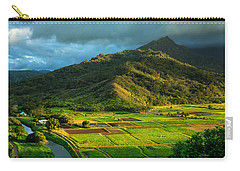 Hanalei Valley Taro Fields Carry-all Pouch
