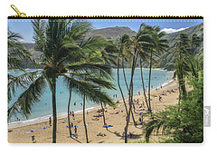 Carry-all Pouch featuring the photograph Hanauma Bay by Steven Sparks